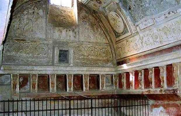 Mosaicos y frescos en Pompeya