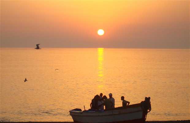 Playa de Targha