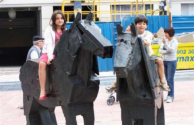 Escultura Asturcones