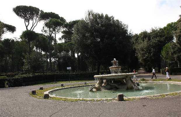Piazzale dei Cavalli Marini a Roma