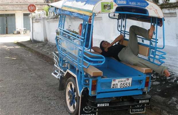 Transporte en Luang Prabang