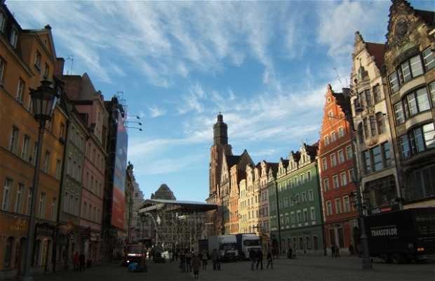 La città vehhia di Wroclaw - Breslavia
