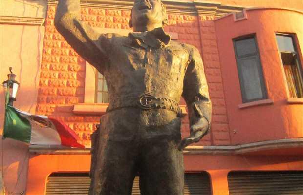 Estatua de Pedro Infante