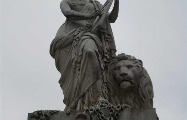 Monument Pro Patria - Cripta