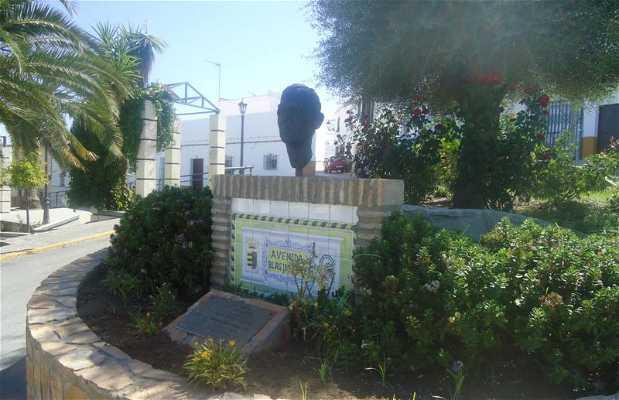 Busto de Blas Infante