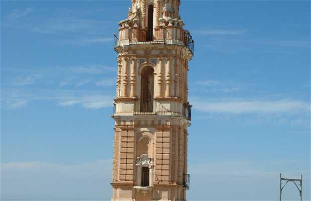 Torre de la antigua Iglesia de la Victoria