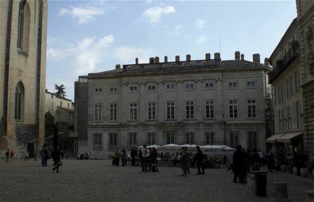 Piazza del Palazzo a Avignone