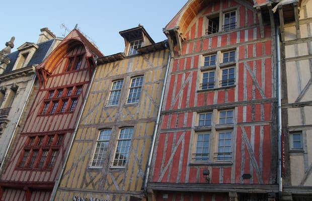 Troyes Old Town Center