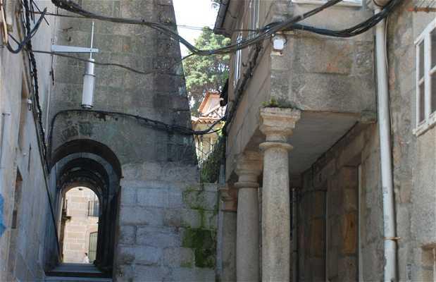 Rúa dos Arcos de San Bartolomeu