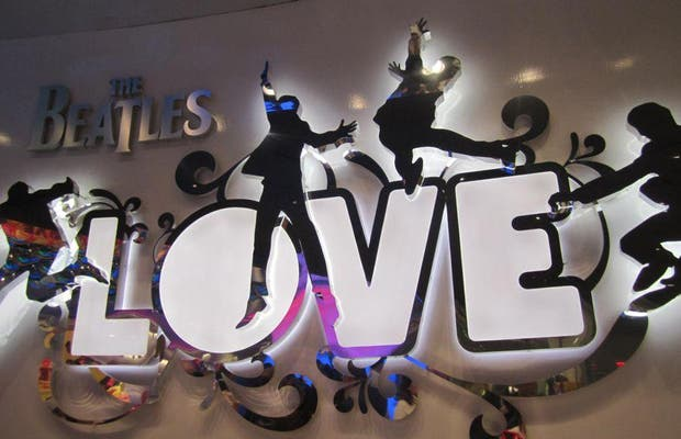 The Beatles Love - Cirque du Soleil at The Mirage