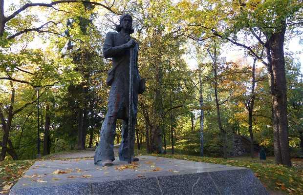Estatua de Kristjan Jaak Petersen