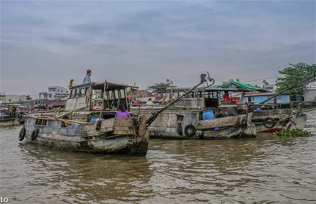 Mercato fluttuante di Cai Rang
