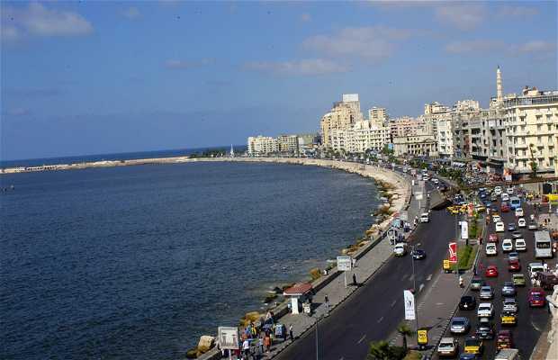 Paseo marítimo de Alejandría, La Corniche