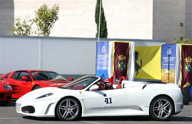 Ferrari dans le Grand Casino Aljarafe