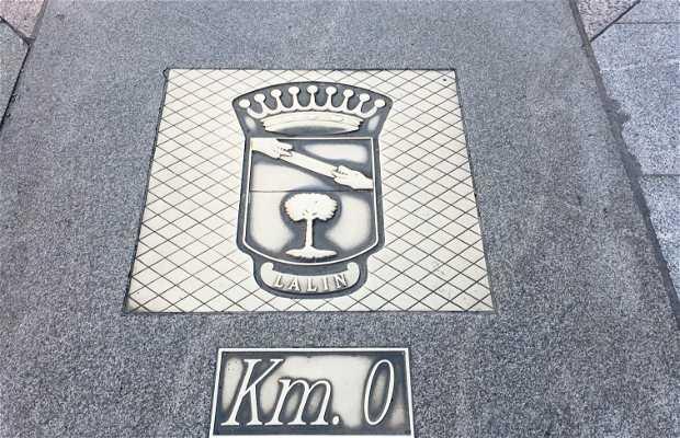 Kilómetro Cero de Galicia