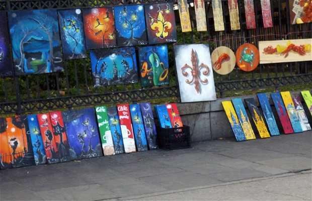 Artesanos de la Jackson Square
