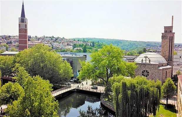 Parque Jardines de la ciudad de Pforzheim