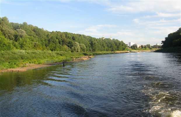 Navegando el río Daugava