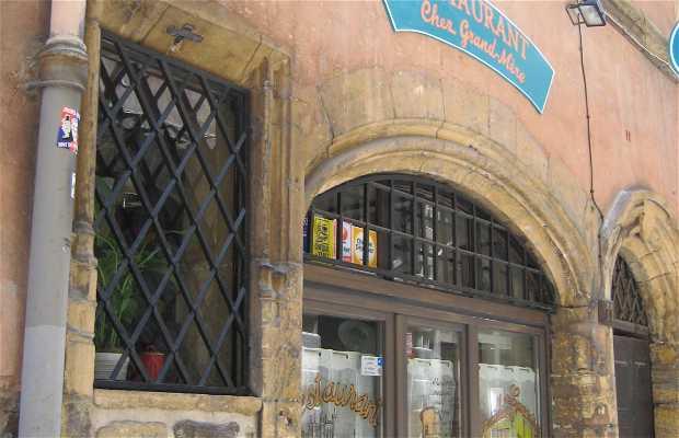 Le restaurant Chez Grand-mère