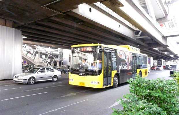 Autobuses urbanos en Bangkok