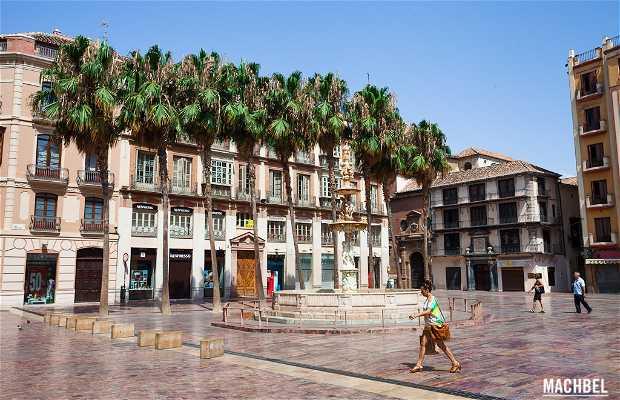 Plaza de la Constitución a Malaga
