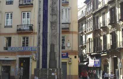 Piazza Uncibay a Malaga