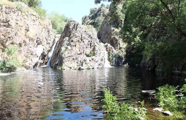 Cascadas del Hervidero