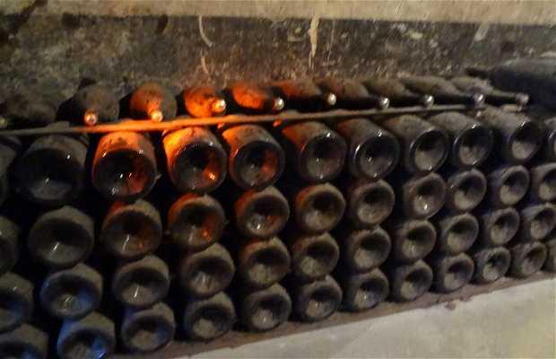 Galerie des gros flacons Pommery