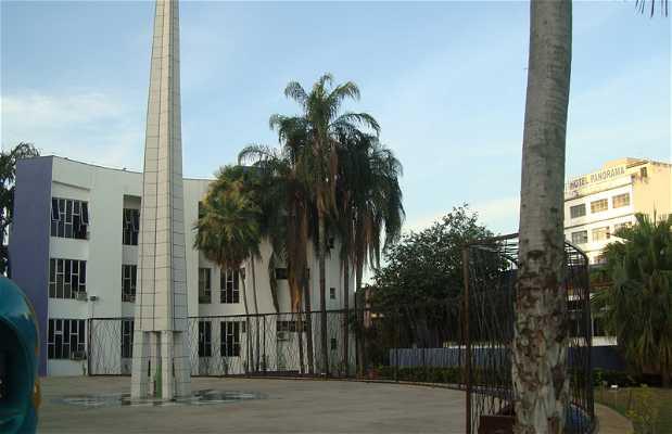 Centre géodésique de l'Amérique du Sud