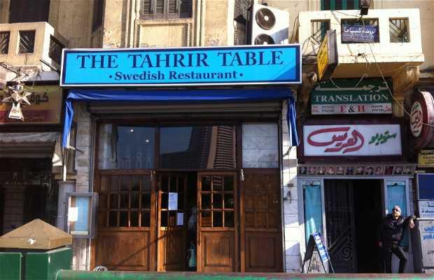 The Tahrir Table - CHIUSO