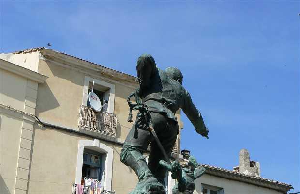 Captain Menard's Statue