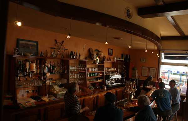 Restaurante L'abri du pêcheur, Carantec, Francia