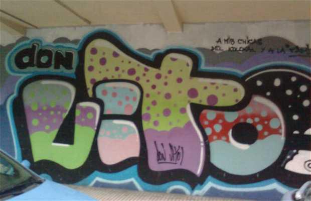 Grafitis en el Parque de Lisboa