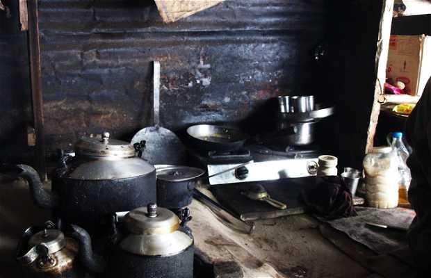 Puestos del templo de Shiva