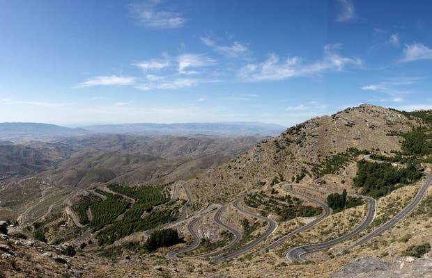 Filabres mountains