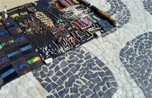 Bisutería en las Playas de Ipanema