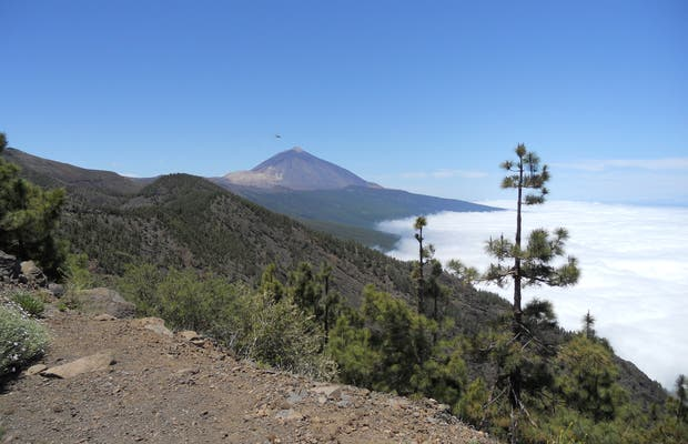 Sendero Mirador de La Fortaleza, Pico Viejo y Pico Teide