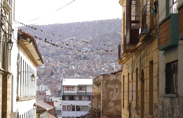 Ruas de La Paz