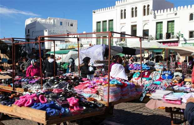 Marché de la Place Hassan II