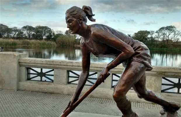 Estatua Luciana Aymar