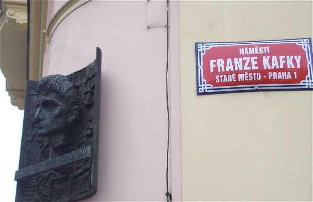 Franz Kafka's Bust