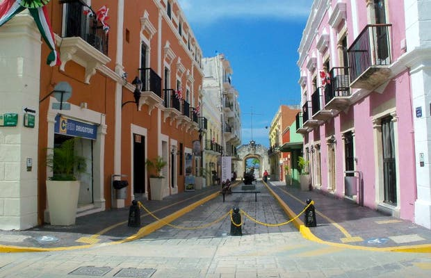Centro histórico de Campeche