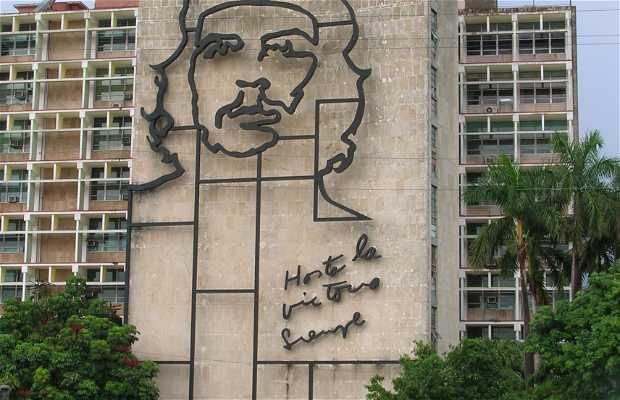 Piazza della Rivoluzione a Cuba