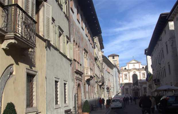 Calle Belenzani, Trento, Italia