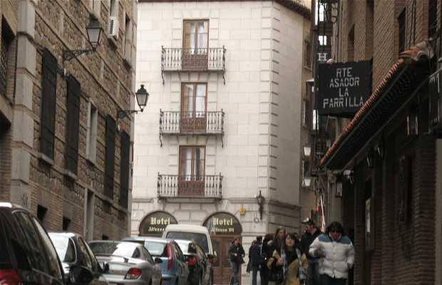 Calle Horno de los Bizcochos.