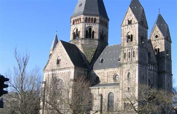 Vieux temple de Metz