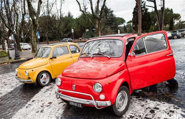 Fiat 500 Experience en Roma