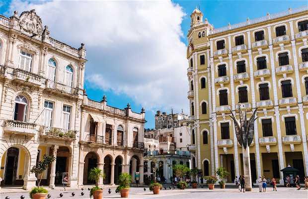 Praça Velha de Havana