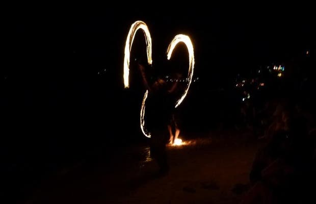 Show de Fuego en Koh Tao