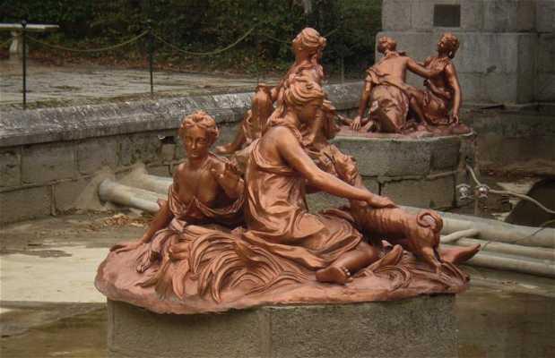 Fuente de Los Baños de Diana